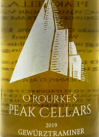 O'Rourke's Peak Cellars Gewurztraminertext
