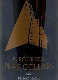 O'Rourke's Peak Cellars Pinot Noir