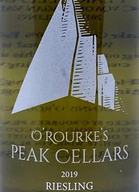 O'Rourke's Peak Cellars Rieslingtext