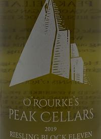 O'Rourke's Peak Cellars Riesling Block Eleventext