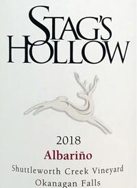 Stag's Hollow Albariño Shuttleworth Creek Vineyard