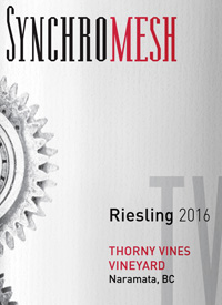 Synchromesh Wines Thorny Vines Rieslingtext