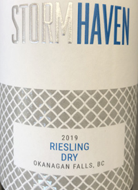 Storm Haven Riesling Drytext