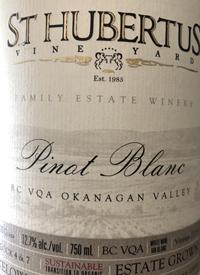 St. Hubertus Family Estate Vineyard Pinot Blanctext