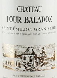 Château Tour Baladoz Saint-Émilion Grand Crutext