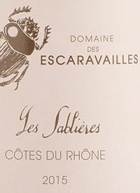 Domaine des Escaravailles Les Sablières Côtes du Rhône