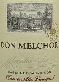 Don Melchor Cabernet Sauvignon Puente Alto Vineyardtext