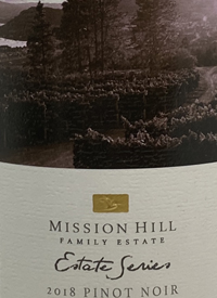 Mission Hill Estate Series Pinot Noir