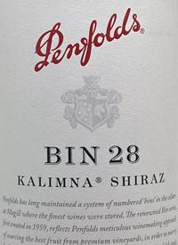 Penfolds Shiraz Kalimna Bin 28
