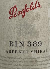 Penfolds Cabernet Shiraz Bin 389text