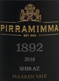 Pirramimma 1892 Shiraztext
