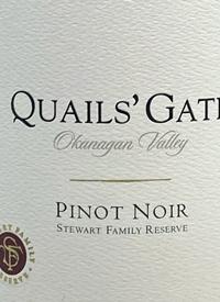 Quails' Gate Stewart Family Reserve Pinot Noirtext