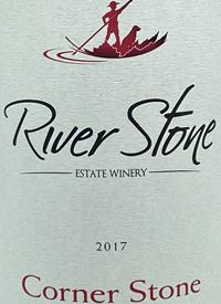 River Stone Corner Stonetext