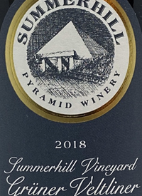Summerhill Pyramid Winery Summerhill Vineyard Grüner Veltliner Demeter Certified Biodynamictext