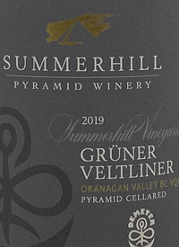 Summerhill Pyramid Winery Summerhill Vineyard Grüner Veltliner Demeter Certified Biodynamic