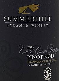 Summerhill Pyramid Winery Estate Grown Biodynamic Pinot Noir Demeter Certifiedtext