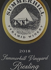 Summerhill Pyramid Winery Summerhill Vineyard Riesling Demeter Certified Biodynamic
