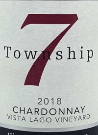 Township 7 Provenance Series Chardonnay Vista Lago Vineyardtext