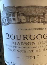 Domaine de Bellene Bourgogne Maison Dieu Vielles Vignestext