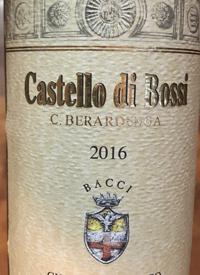 Castello di Bossi Chianti Classicotext