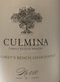 Culmina Family Estate N˚ 010 Margaret's Bench Chardonnaytext