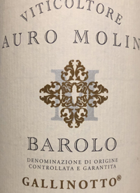 Mauro Molino Barolo Gallinottotext
