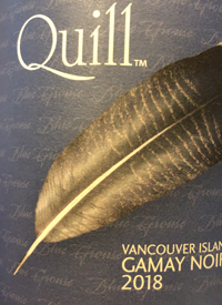 Blue Grouse Quill Gamay Noirtext