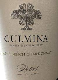 Culmina Family Estate N˚ 011 Stan's Bench Chardonnay