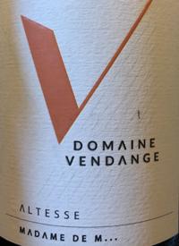 Domaine Vendange Roussette de Savoie Madame de M...text