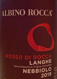 Albino Rocca Rosso di Rocca Langhe Nebbiolotext