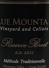 Blue Mountain Reserve Brut R.D. Méthode Traditionelletext
