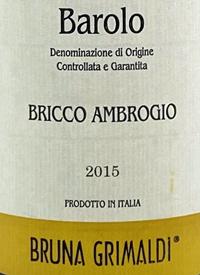 Bruna Grimaldi Barolo Bricco Ambrogiotext