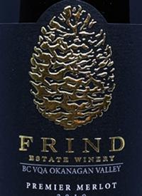 Frind Estate Premier Merlottext