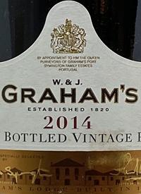 Graham's Late Bottled Vintage Porttext