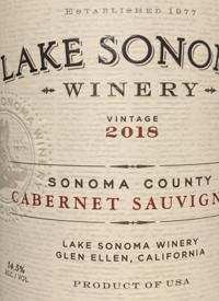Lake Sonoma Sonoma County Cabernet Sauvignontext