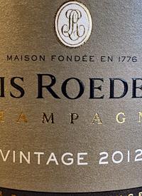 Louis Roederer Brut Vintage Champagnetext
