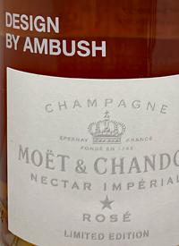 Moët and Chandon Nectar Impérial Rosé Limited Edition Design by Ambushtext