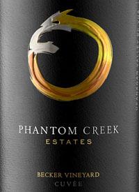 Phantom Creek Estates Becker Vineyard Cuvée N° 25text