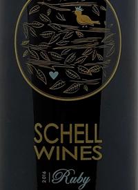 Schell Wines Rubytext