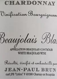 Jean-Paul Brun Terres Dorées Beaujolais Blanc Vinification Bourguignonnetext