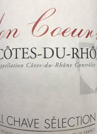 J. L. Chave Sélection Mon Coeur Côtes-du-Rhônetext