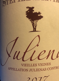 Stéphane Aviron Julienas Vieilles Vignestext