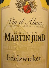 Domaine Martin Jund Edelzwicker