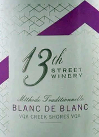 13th Street Winery Blanc de Blancs
