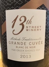 13th Street Winery Grande Cuvée Blanc de Noir