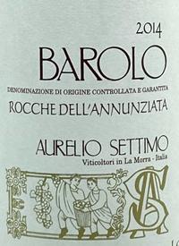Aurelio Settimo Barolo Rocche Dell'Annunziatatext