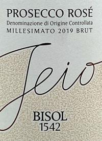 Bisol Jeio Rosé Prosecco Brut