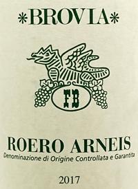 Brovia Roero Arneistext