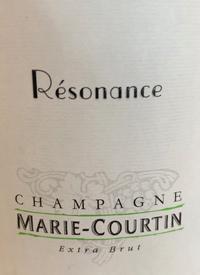 Champagne Marie-Courtin Résonancetext