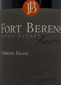 Fort Berens Cabernet Franc Reserve